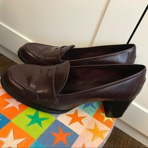 Via Spiga preppy back to school penny loafers, 8.5